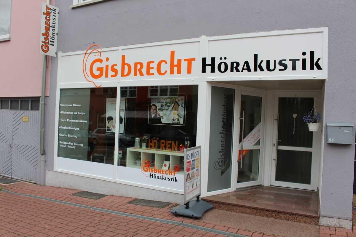 Gisbrecht Hörakustik Filiale Saarwellingen