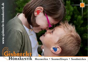 Gisbrecht Hörakustik - Schwimmschutz Juli 2014