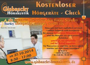Gisbrecht Hörakustik - Starkey Servicetag 2014
