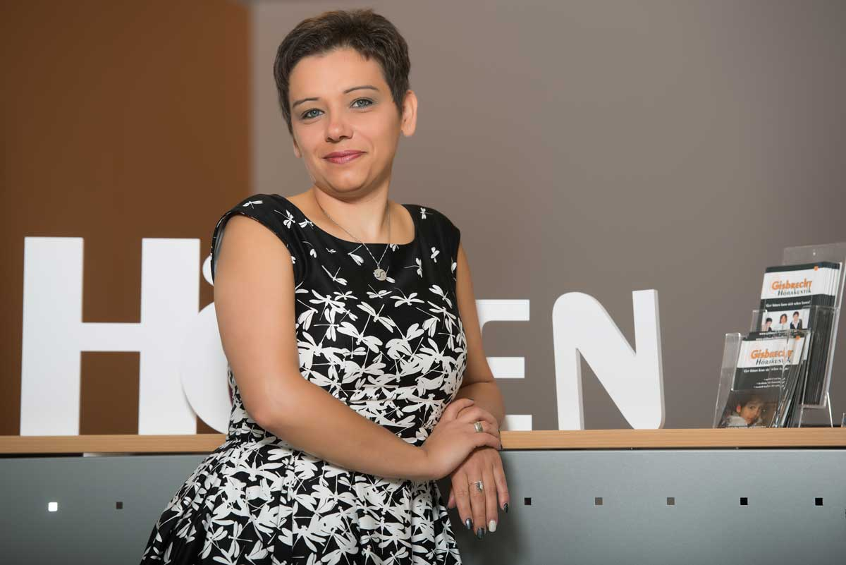 Tatjana Klöckner - Gisbrecht Hörakustik