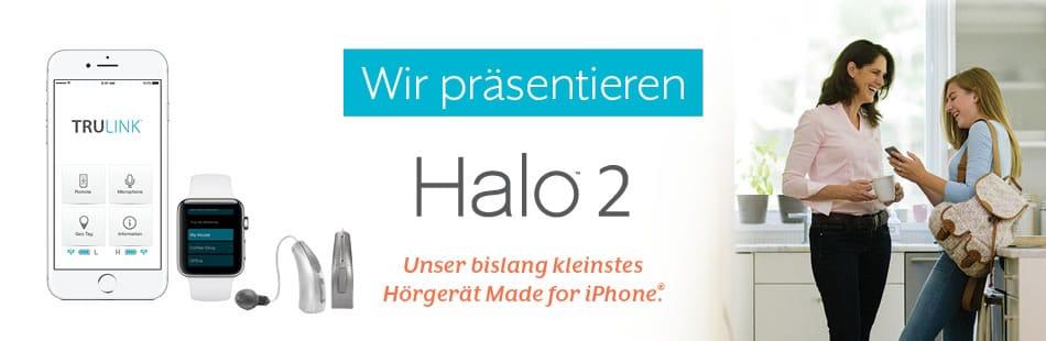 Gisbrecht Hörakustik halo2 von Starkey - Made for iPhone