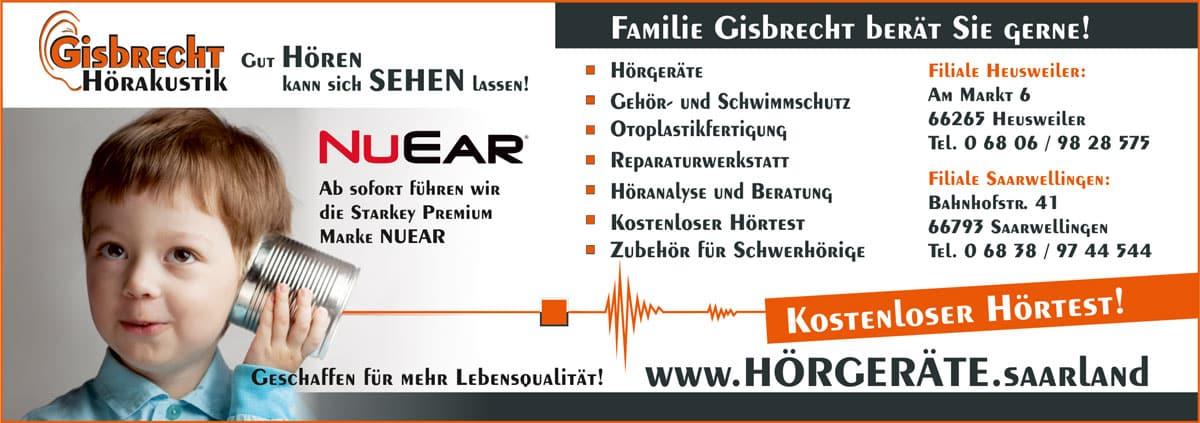 Gisbrecht Hörakustik - Ab sofort Starkey premium Partner mit der Marke NUEAR