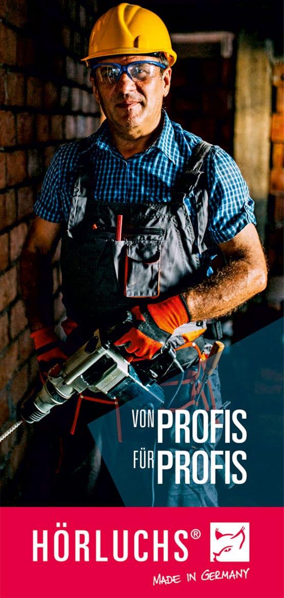 Individueller Gehörschutz für Industrie & Handwerk - Gisbrecht Hörakustik Saarland
