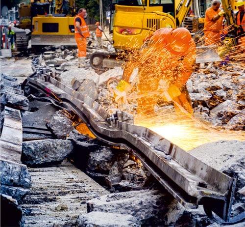 Imagebild Straßenbau Arbeitsschutz Hörluchs - Gisbrecht Hörakustik Saarland