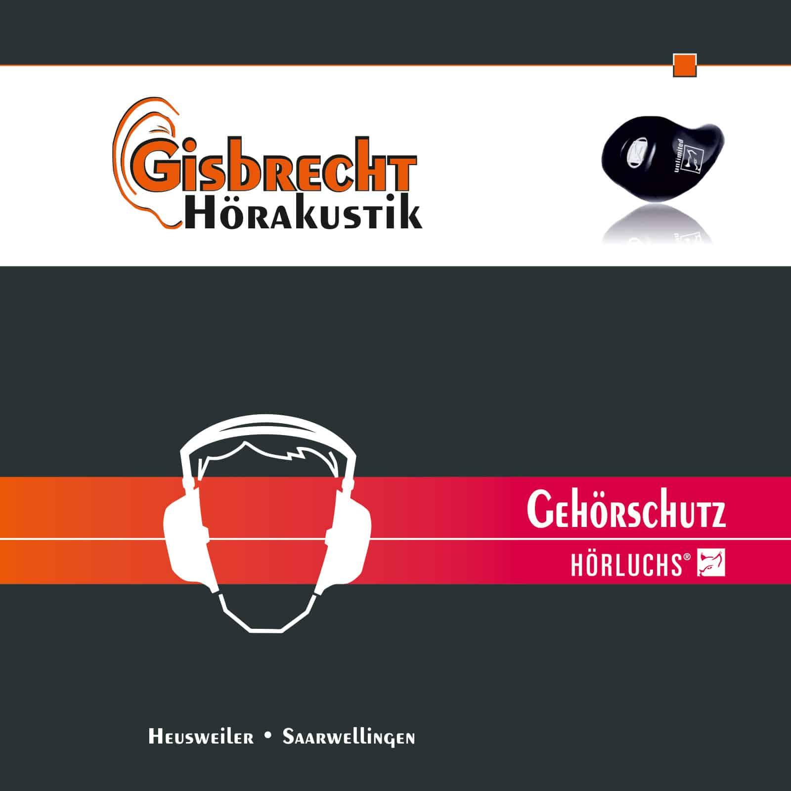 Gehörschutzbroschüre - Gisbrecht Hörakustik Saarland