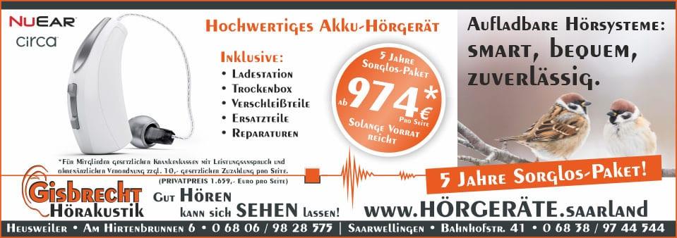 Gisbrecht Hörakustik - Rundum Sorglos Paket